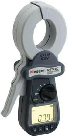 DET24C Digitales Erdungsprüfgerät