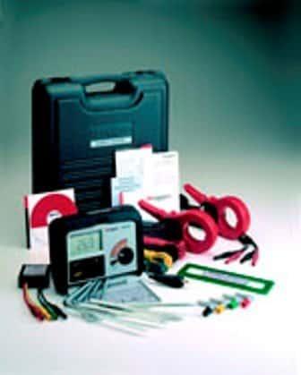DET4TC Digitales-Erdungsprüfgerät Kit |