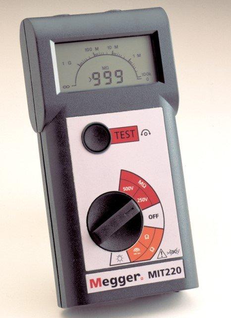 MIT220 Isolationsmessgerät | Durchgangsprüfgerät