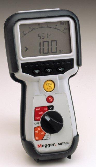 MIT400 Isolationsprüfgerät | Isolationsmessgeräte 1 KV