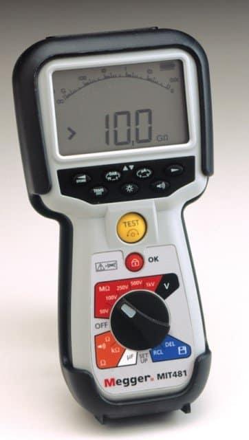 MIT481 Isolationsprüfgerät | Isolationstester