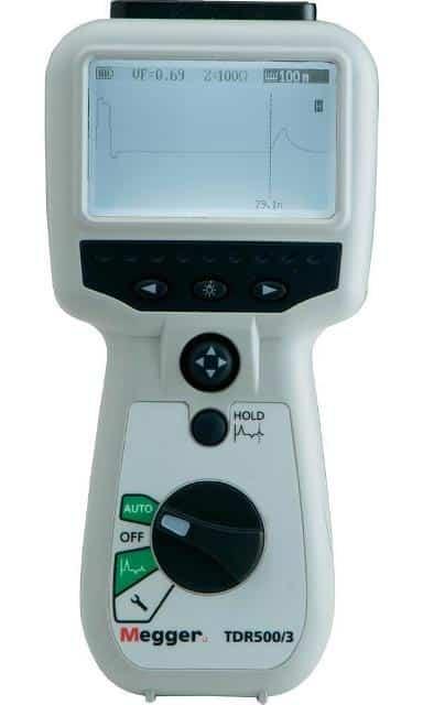 TDR500 Zeitbereichsreflektometer