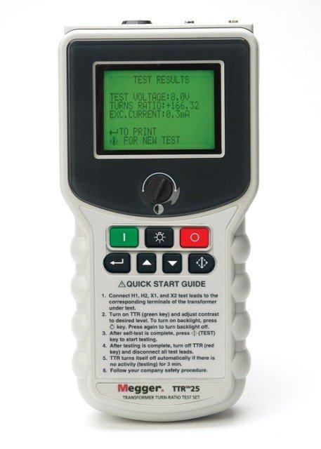 TTR 25 - TTR 100 | Windungsverhältnisprüfgerät