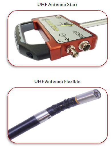 UHF PD Antenne (Starr / Flexibel)   Trafo