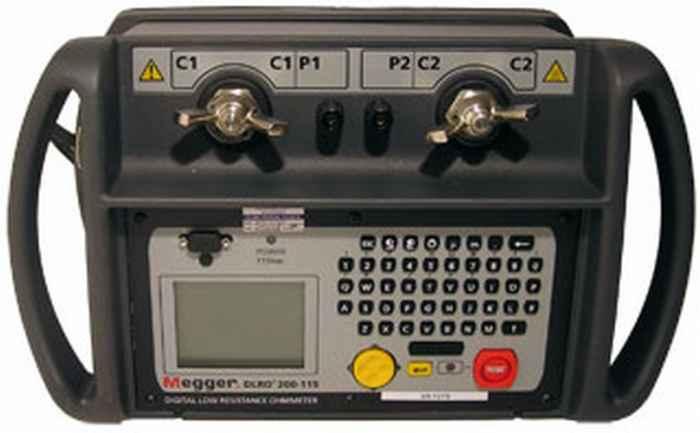 Micro Ohm Meter DLRO200 | Micro Ohm Messung